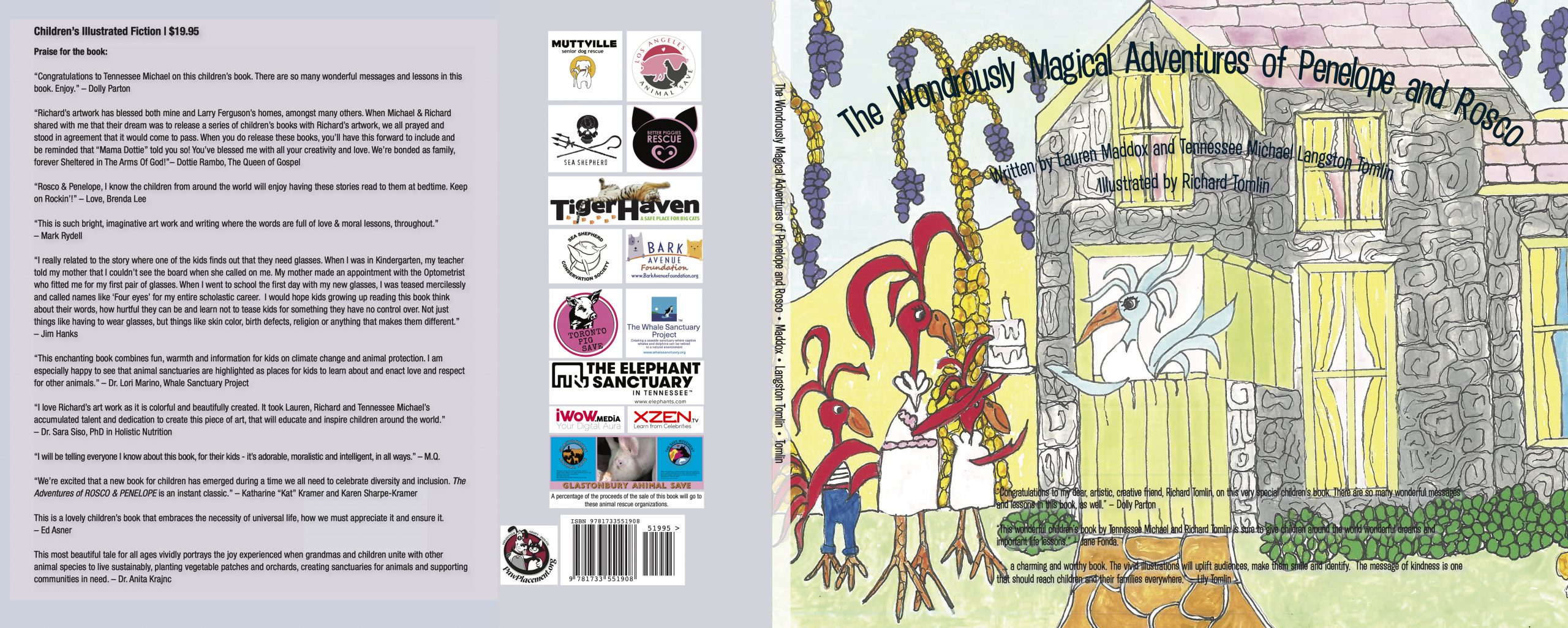 The Wondrously Magical Adventures of Penelope and Rosco