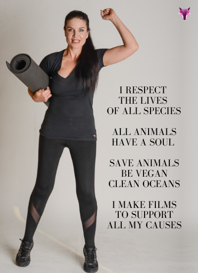 Lauren Maddox Animals Vegan Oceans